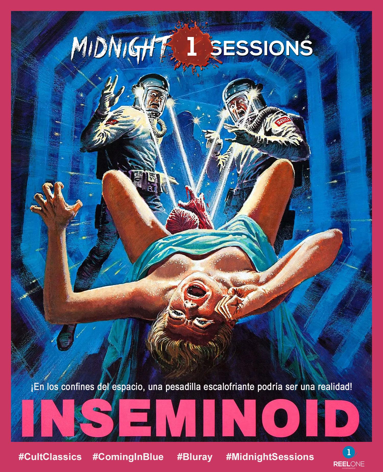 Cartel promocional Midnight Sessions - Inseminoid